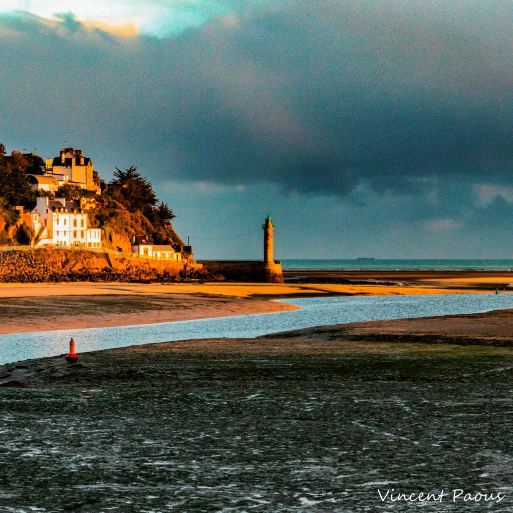 Vincent Paous Photographie, le port du Légué le matin au lever du soleil